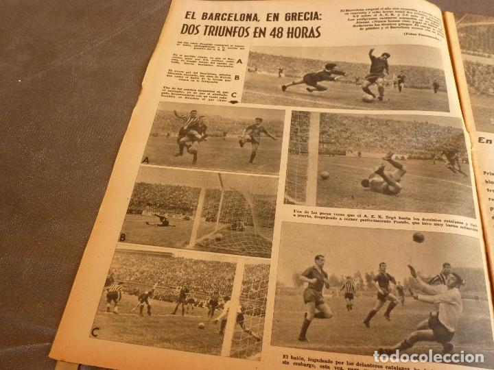 Coleccionismo deportivo: MARCA(9-1-62)!!!A.E.K.ATENAS 0 BARÇA 6 !!!LIGA 1ª DIV. BULGARIA(MUNDIAL-62)SELECC.MUNDIAL FÚTBOL. - Foto 2 - 62065260