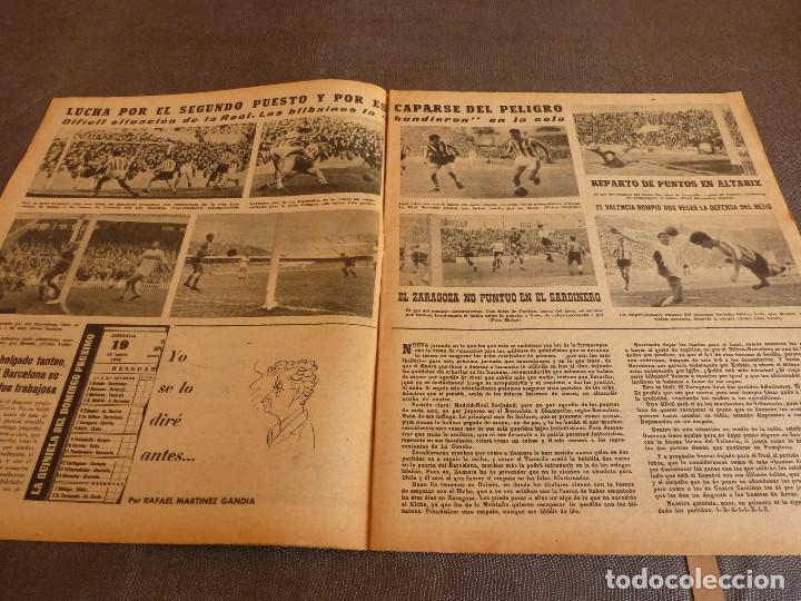 Coleccionismo deportivo: MARCA(9-1-62)!!!A.E.K.ATENAS 0 BARÇA 6 !!!LIGA 1ª DIV. BULGARIA(MUNDIAL-62)SELECC.MUNDIAL FÚTBOL. - Foto 5 - 62065260