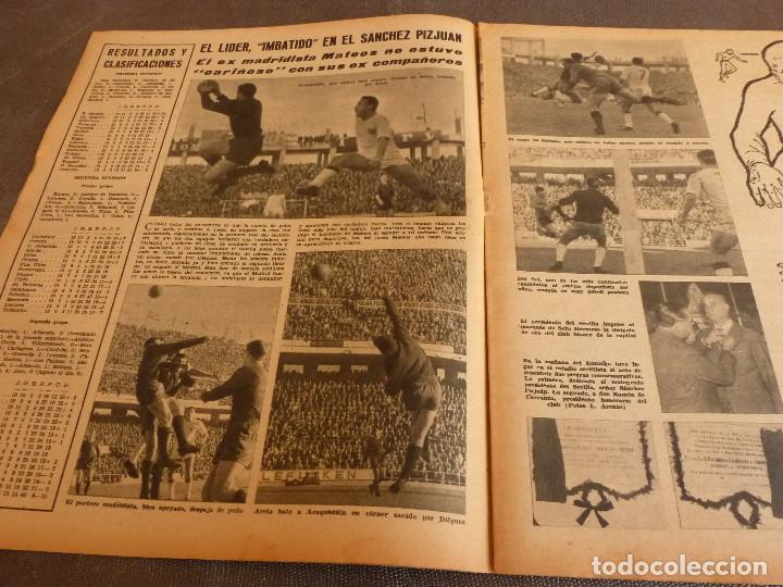Coleccionismo deportivo: MARCA(9-1-62)!!!A.E.K.ATENAS 0 BARÇA 6 !!!LIGA 1ª DIV. BULGARIA(MUNDIAL-62)SELECC.MUNDIAL FÚTBOL. - Foto 6 - 62065260