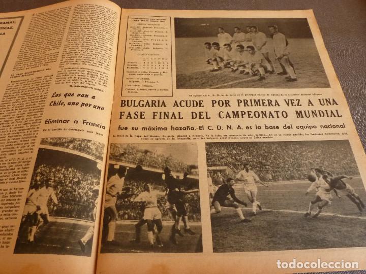 Coleccionismo deportivo: MARCA(9-1-62)!!!A.E.K.ATENAS 0 BARÇA 6 !!!LIGA 1ª DIV. BULGARIA(MUNDIAL-62)SELECC.MUNDIAL FÚTBOL. - Foto 7 - 62065260