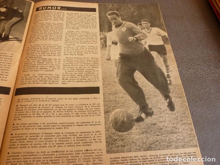 Coleccionismo deportivo: MARCA(9-1-62)!!!A.E.K.ATENAS 0 BARÇA 6 !!!LIGA 1ª DIV. BULGARIA(MUNDIAL-62)SELECC.MUNDIAL FÚTBOL. - Foto 11 - 62065260
