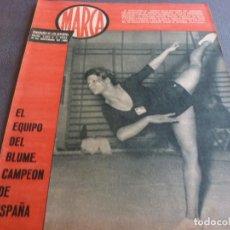 Coleccionismo deportivo: MARCA(21-11-62)RUMANIA-ESPAÑA SALVAMOS ELIMINATORIA,JORNADA COPA,LUIS DEL SOL,SILVEIRA(BARÇA)BLUME.. Lote 62138320