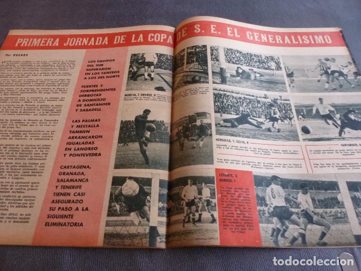 Coleccionismo deportivo: MARCA(21-11-62)RUMANIA-ESPAÑA SALVAMOS ELIMINATORIA,JORNADA COPA,LUIS DEL SOL,SILVEIRA(BARÇA)BLUME. - Foto 3 - 62138320