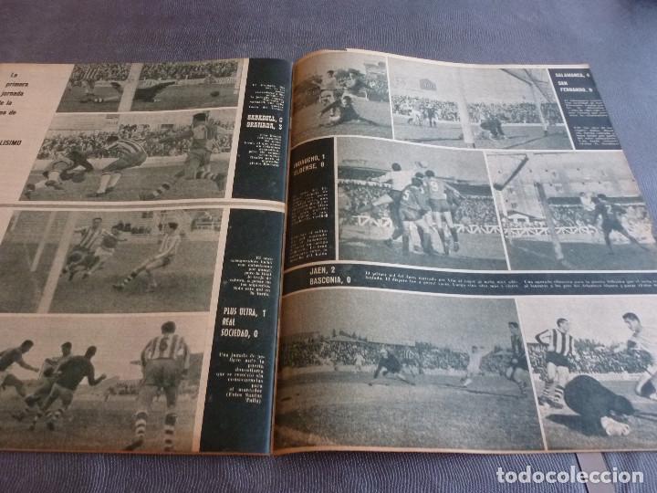 Coleccionismo deportivo: MARCA(21-11-62)RUMANIA-ESPAÑA SALVAMOS ELIMINATORIA,JORNADA COPA,LUIS DEL SOL,SILVEIRA(BARÇA)BLUME. - Foto 4 - 62138320
