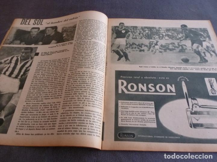 Coleccionismo deportivo: MARCA(21-11-62)RUMANIA-ESPAÑA SALVAMOS ELIMINATORIA,JORNADA COPA,LUIS DEL SOL,SILVEIRA(BARÇA)BLUME. - Foto 6 - 62138320