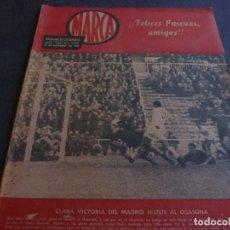 Coleccionismo deportivo: MARCA(25-12-62)JORNADA LIGA 1ª Y 2ª DIV,LA EUROCOPA DE NACIONES,LUIS FOLLEDO(BOXEO). Lote 62139052