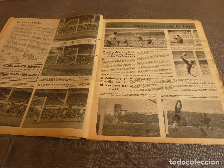 Coleccionismo deportivo: MARCA(17-1-61)AT.MADRID 4 ZARAGOZA 0,JOHN CHARLES NO AL MADRID,GRIFFA,BELLA ALEJANDRA,RIVIERE,JAPÓN. - Foto 3 - 62217168