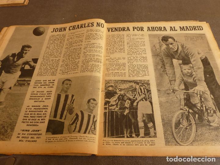 Coleccionismo deportivo: MARCA(17-1-61)AT.MADRID 4 ZARAGOZA 0,JOHN CHARLES NO AL MADRID,GRIFFA,BELLA ALEJANDRA,RIVIERE,JAPÓN. - Foto 6 - 62217168