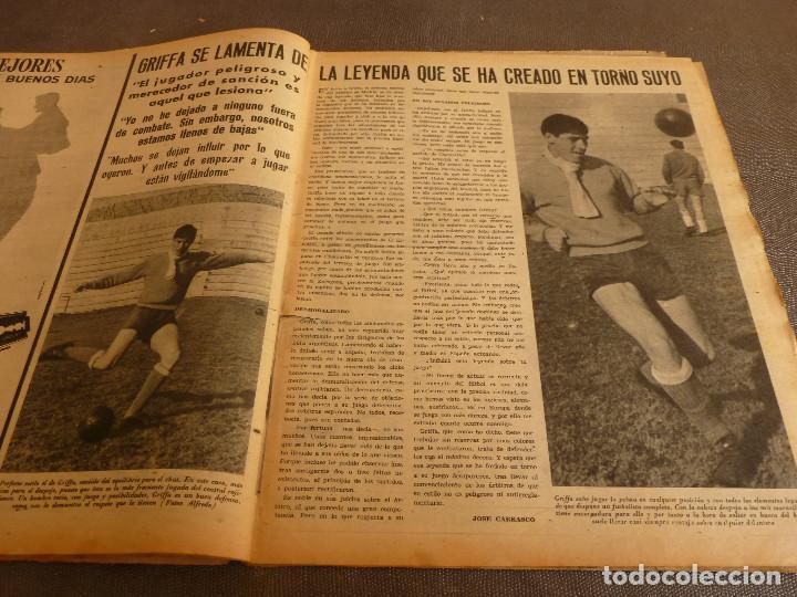 Coleccionismo deportivo: MARCA(17-1-61)AT.MADRID 4 ZARAGOZA 0,JOHN CHARLES NO AL MADRID,GRIFFA,BELLA ALEJANDRA,RIVIERE,JAPÓN. - Foto 7 - 62217168