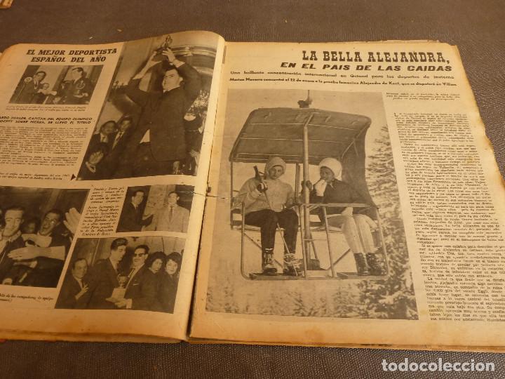 Coleccionismo deportivo: MARCA(17-1-61)AT.MADRID 4 ZARAGOZA 0,JOHN CHARLES NO AL MADRID,GRIFFA,BELLA ALEJANDRA,RIVIERE,JAPÓN. - Foto 8 - 62217168