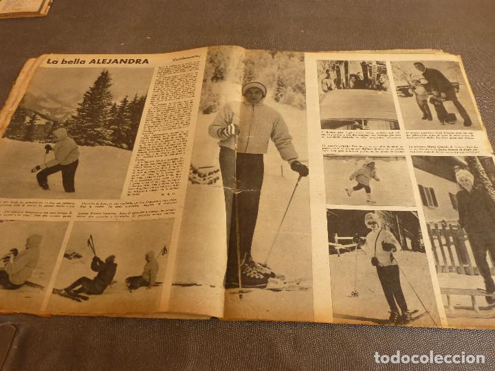 Coleccionismo deportivo: MARCA(17-1-61)AT.MADRID 4 ZARAGOZA 0,JOHN CHARLES NO AL MADRID,GRIFFA,BELLA ALEJANDRA,RIVIERE,JAPÓN. - Foto 9 - 62217168