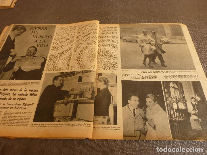 Coleccionismo deportivo: MARCA(17-1-61)AT.MADRID 4 ZARAGOZA 0,JOHN CHARLES NO AL MADRID,GRIFFA,BELLA ALEJANDRA,RIVIERE,JAPÓN. - Foto 10 - 62217168
