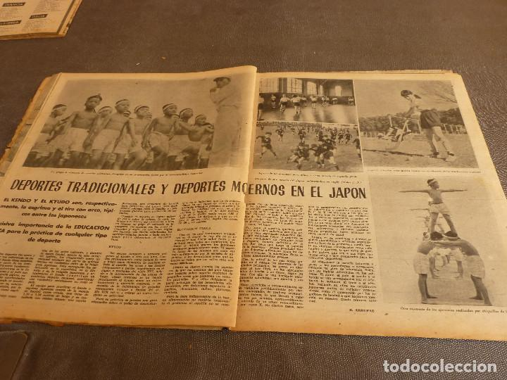 Coleccionismo deportivo: MARCA(17-1-61)AT.MADRID 4 ZARAGOZA 0,JOHN CHARLES NO AL MADRID,GRIFFA,BELLA ALEJANDRA,RIVIERE,JAPÓN. - Foto 11 - 62217168