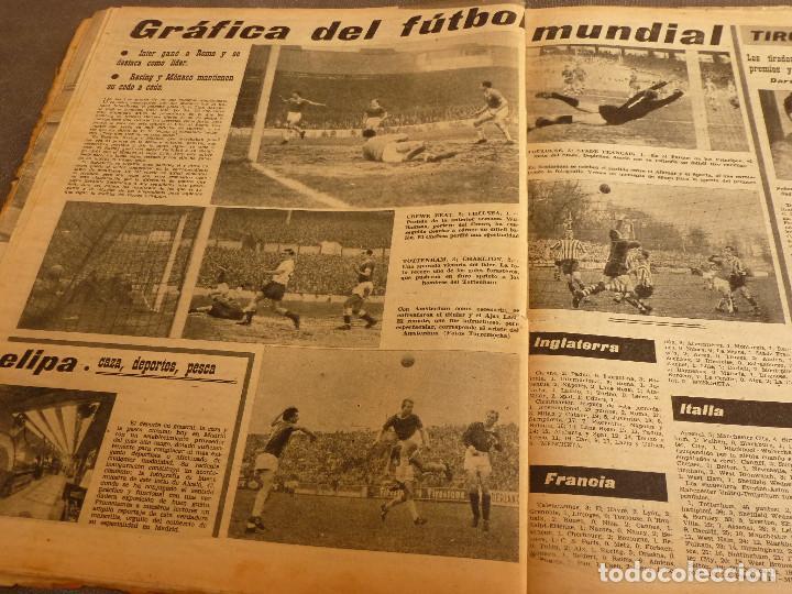 Coleccionismo deportivo: MARCA(17-1-61)AT.MADRID 4 ZARAGOZA 0,JOHN CHARLES NO AL MADRID,GRIFFA,BELLA ALEJANDRA,RIVIERE,JAPÓN. - Foto 12 - 62217168