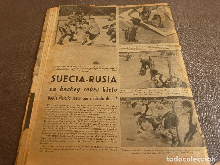 Coleccionismo deportivo: MARCA(17-1-61)AT.MADRID 4 ZARAGOZA 0,JOHN CHARLES NO AL MADRID,GRIFFA,BELLA ALEJANDRA,RIVIERE,JAPÓN. - Foto 13 - 62217168