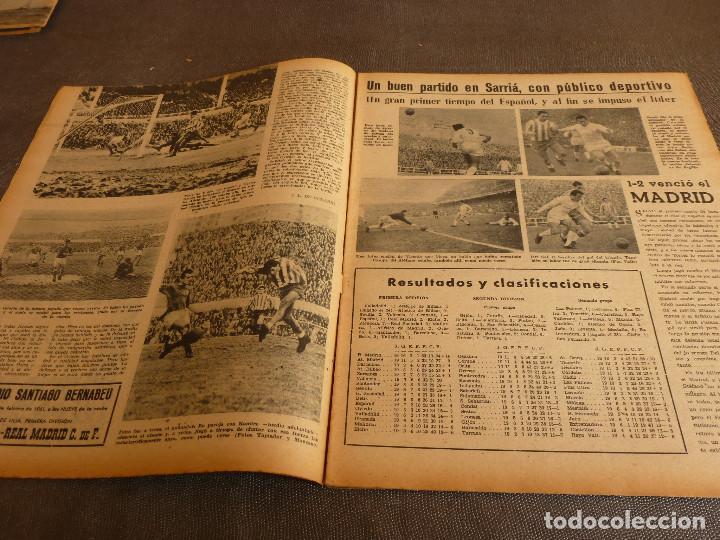 Coleccionismo deportivo: MARCA(31-1-61)R.MADRID 9 U.ESPAÑOLA CHILE 0,PROX. VASCO GAMA-R.MADRID EN MARACANÁ,AT.MADRID,LASARTE. - Foto 3 - 62217856