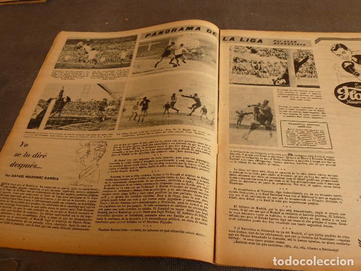 Coleccionismo deportivo: MARCA(31-1-61)R.MADRID 9 U.ESPAÑOLA CHILE 0,PROX. VASCO GAMA-R.MADRID EN MARACANÁ,AT.MADRID,LASARTE. - Foto 4 - 62217856