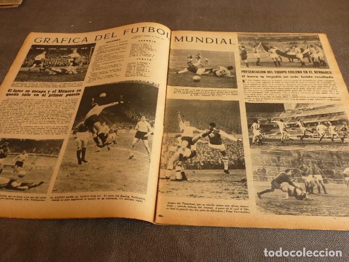 Coleccionismo deportivo: MARCA(31-1-61)R.MADRID 9 U.ESPAÑOLA CHILE 0,PROX. VASCO GAMA-R.MADRID EN MARACANÁ,AT.MADRID,LASARTE. - Foto 5 - 62217856