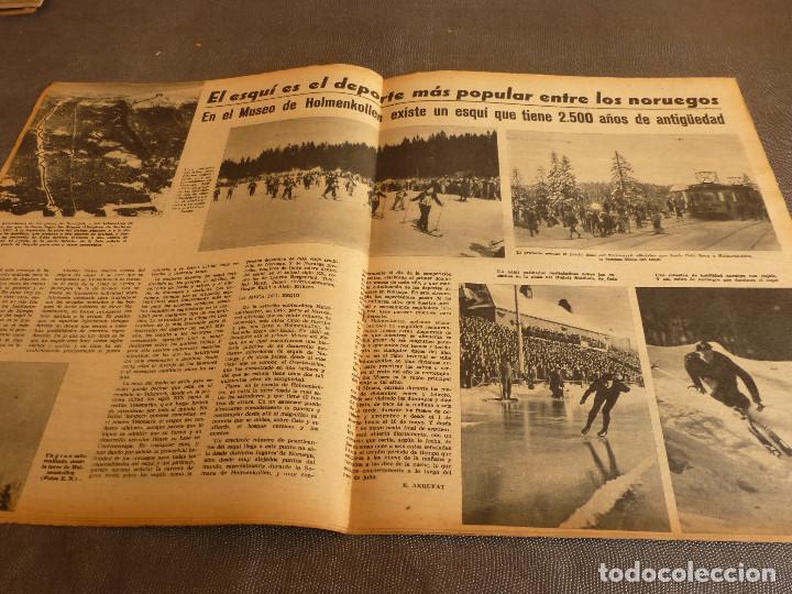 Coleccionismo deportivo: MARCA(31-1-61)R.MADRID 9 U.ESPAÑOLA CHILE 0,PROX. VASCO GAMA-R.MADRID EN MARACANÁ,AT.MADRID,LASARTE. - Foto 12 - 62217856