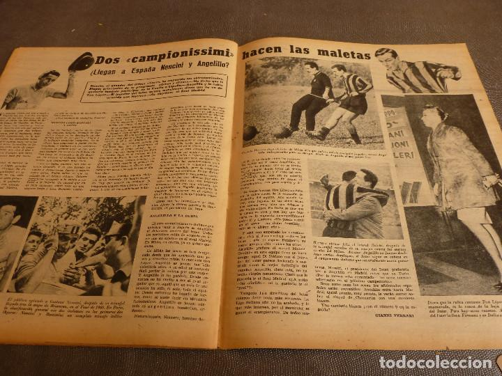 Coleccionismo deportivo: MARCA(31-1-61)R.MADRID 9 U.ESPAÑOLA CHILE 0,PROX. VASCO GAMA-R.MADRID EN MARACANÁ,AT.MADRID,LASARTE. - Foto 16 - 62217856