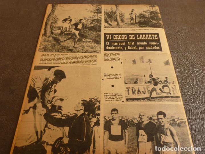 Coleccionismo deportivo: MARCA(31-1-61)R.MADRID 9 U.ESPAÑOLA CHILE 0,PROX. VASCO GAMA-R.MADRID EN MARACANÁ,AT.MADRID,LASARTE. - Foto 17 - 62217856