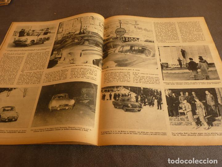 Coleccionismo deportivo: MARCA(7-2-61)RALLY MONTECARLO,LA LIGA,PLUS ULTRA VIVERO FUTBOLISTAS,FUTBOL INGLÈS,HIPICA. - Foto 8 - 62218024