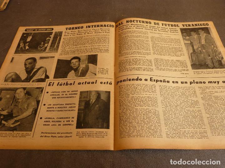 Coleccionismo deportivo: MARCA(7-2-61)RALLY MONTECARLO,LA LIGA,PLUS ULTRA VIVERO FUTBOLISTAS,FUTBOL INGLÈS,HIPICA. - Foto 10 - 62218024