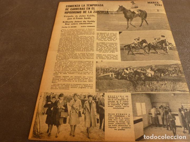 Coleccionismo deportivo: MARCA(7-2-61)RALLY MONTECARLO,LA LIGA,PLUS ULTRA VIVERO FUTBOLISTAS,FUTBOL INGLÈS,HIPICA. - Foto 12 - 62218024