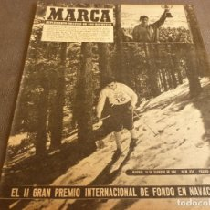 Coleccionismo deportivo: MARCA(14-2-61)LA LIGA,VASCO GAMA-R.MADRID EMPATAN EN MARACANÁ,DI BELLA(CATANIA)DEPORTE PAKISTÁN.. Lote 62218276