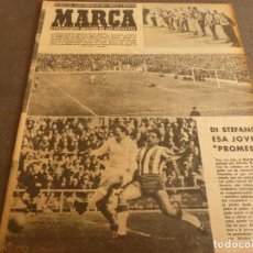 Coleccionismo deportivo: MARCA(21-2-61)JORNADA LIGA,LOUIS AMSTRONG,DEPORTE PAKISTÁN,TIRO EN MÁLAGA,MARCA-TURF.. Lote 62218452