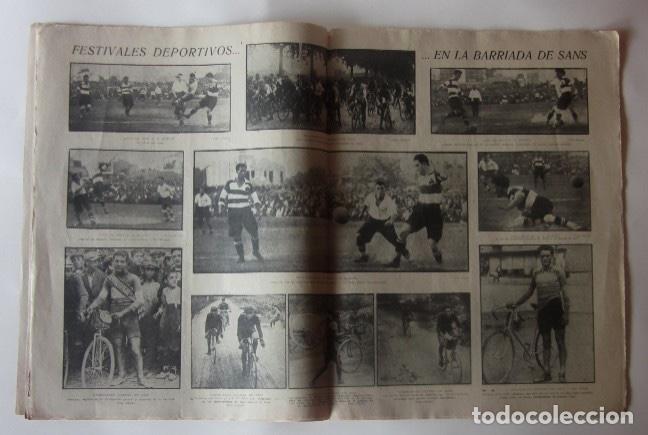 Coleccionismo deportivo: JORNADA DEPORTIVA - FESTIVALES DEPORTIVOS EN SANS... - Foto 2 - 62270672