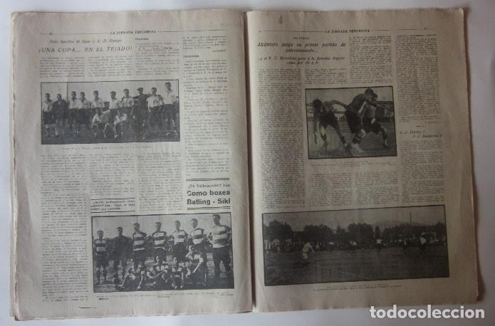 Coleccionismo deportivo: JORNADA DEPORTIVA - FESTIVALES DEPORTIVOS EN SANS... - Foto 3 - 62270672