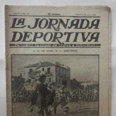 Coleccionismo deportivo: LA JORNADA DEPORTIVA - U.S. SANS-F.C. MARTINENC, EL CICLISTA MIGUEL BOVER.... Lote 62272780