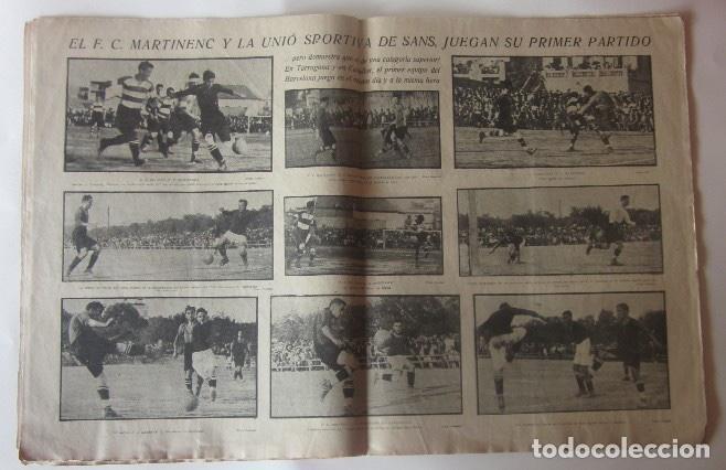 Coleccionismo deportivo: LA JORNADA DEPORTIVA - U.S. SANS-F.C. MARTINENC, EL CICLISTA MIGUEL BOVER... - Foto 2 - 62272780