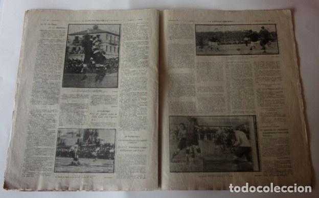 Coleccionismo deportivo: LA JORNADA DEPORTIVA - U.S. SANS-F.C. MARTINENC, EL CICLISTA MIGUEL BOVER... - Foto 3 - 62272780