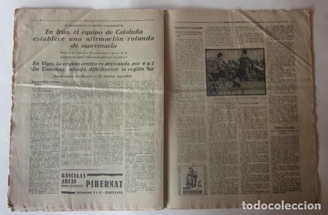 Coleccionismo deportivo: LA JORNADA DEPORTIVA - U.S. SANS-F.C. MARTINENC, EL CICLISTA MIGUEL BOVER... - Foto 4 - 62272780