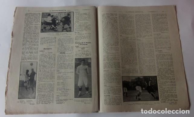 Coleccionismo deportivo: LA JORNADA DEPORTIVA - MATCH ESPAÑA-FRANCIA, VALENCIA-RACING DE SANTANDER, SELECCION DE GUIPUZCOA... - Foto 4 - 62274824