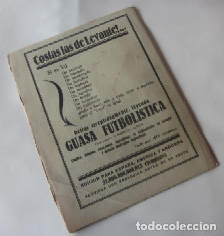 Coleccionismo deportivo: LA JORNADA DEPORTIVA - MATCH ESPAÑA-FRANCIA, VALENCIA-RACING DE SANTANDER, SELECCION DE GUIPUZCOA... - Foto 5 - 62274824
