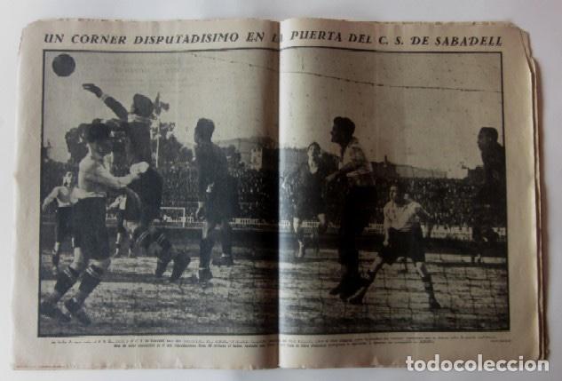 Coleccionismo deportivo: LA JORNADA DEPORTIVA - BARCELONA-SABADELL, ESPAÑOL-EUROPA, CAMPEONATOS DE ATLETISMO EN BARCELONA... - Foto 3 - 62275248