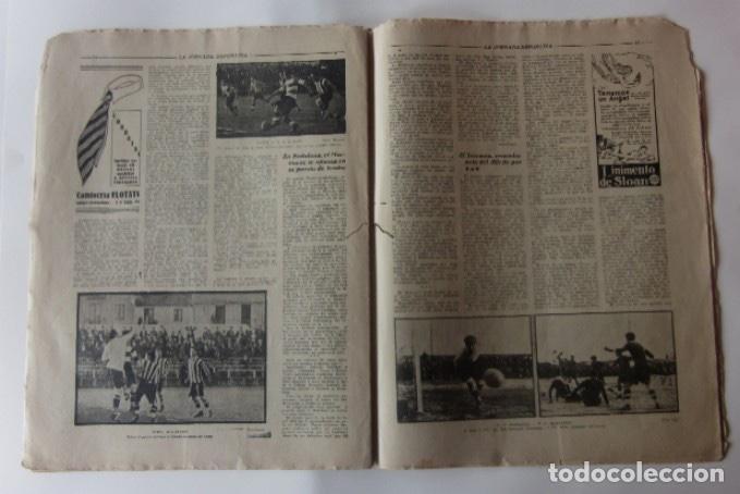 Coleccionismo deportivo: LA JORNADA DEPORTIVA - BARCELONA-SABADELL, ESPAÑOL-EUROPA, CAMPEONATOS DE ATLETISMO EN BARCELONA... - Foto 4 - 62275248