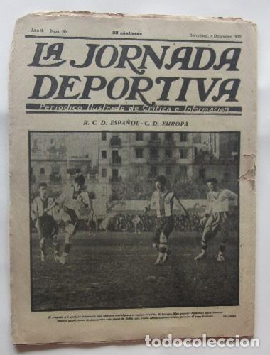 Coleccionismo deportivo: LA JORNADA DEPORTIVA - BARCELONA-SABADELL, ESPAÑOL-EUROPA, CAMPEONATOS DE ATLETISMO EN BARCELONA... - Foto 5 - 62275248