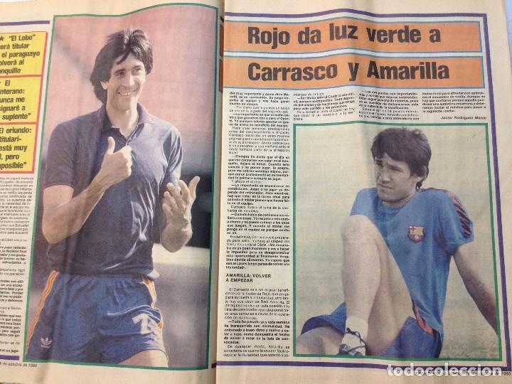 Coleccionismo deportivo: DEPORTIVO CATALAN SPORT 26 OCTUBRE 1985 (M) - Foto 2 - 62281144
