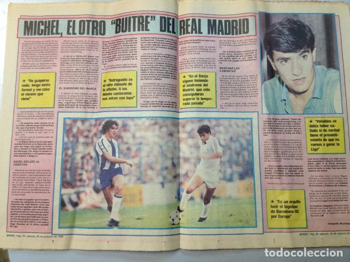 Coleccionismo deportivo: DEPORTIVO CATALAN SPORT 26 OCTUBRE 1985 (M) - Foto 3 - 62281144