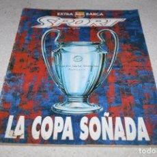 Coleccionismo deportivo: EXTRA BARÇA LA COPA SOÑADA PROGRAMA FINAL COPA EUROPA 1992. Lote 62288596