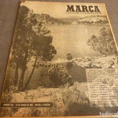 Coleccionismo deportivo: MARCA(21-3-61)JORNADA LIGA,PROX.SEMIF.COPA EUROPA HAMBURGO-BARÇA,TIRO PICHÓN BADAJOZ,MADRID CON MAR.. Lote 62331148