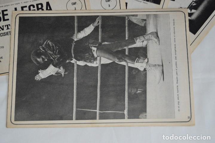 Coleccionismo deportivo: JOSE LEGRA CUENTA SU VIDA - SERIE COMPLETA - 5 CAPÍTULOS - DEL DIARIO AS COLOR - MUY ANTIGUO - Foto 3 - 174230005