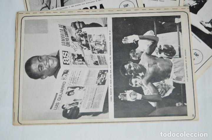 Coleccionismo deportivo: JOSE LEGRA CUENTA SU VIDA - SERIE COMPLETA - 5 CAPÍTULOS - DEL DIARIO AS COLOR - MUY ANTIGUO - Foto 5 - 174230005