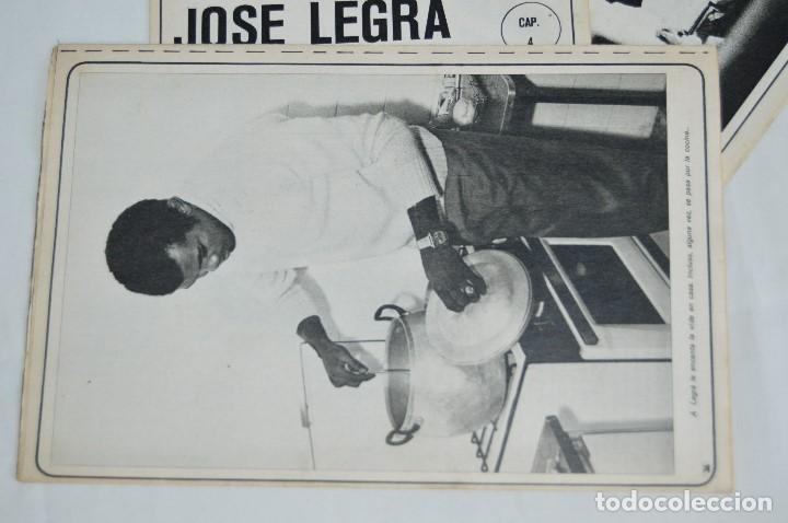 Coleccionismo deportivo: JOSE LEGRA CUENTA SU VIDA - SERIE COMPLETA - 5 CAPÍTULOS - DEL DIARIO AS COLOR - MUY ANTIGUO - Foto 7 - 174230005