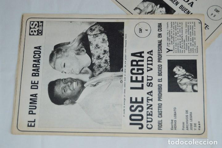 Coleccionismo deportivo: JOSE LEGRA CUENTA SU VIDA - SERIE COMPLETA - 5 CAPÍTULOS - DEL DIARIO AS COLOR - MUY ANTIGUO - Foto 8 - 174230005