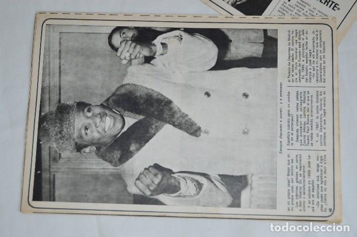 Coleccionismo deportivo: JOSE LEGRA CUENTA SU VIDA - SERIE COMPLETA - 5 CAPÍTULOS - DEL DIARIO AS COLOR - MUY ANTIGUO - Foto 9 - 174230005